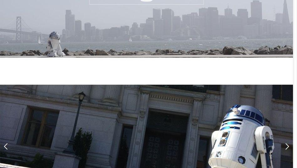 """Screenshot aus """"Artoo in Love"""": R2-D2 hat sich verliebt"""
