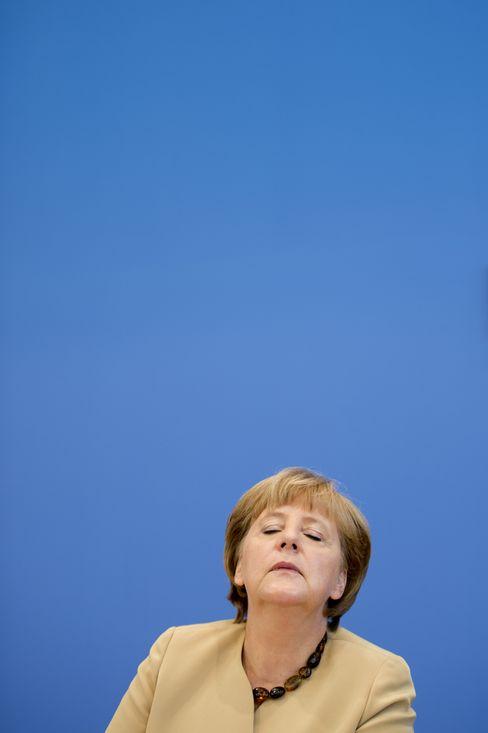 Kanzlerin Merkel: Alles im Griff