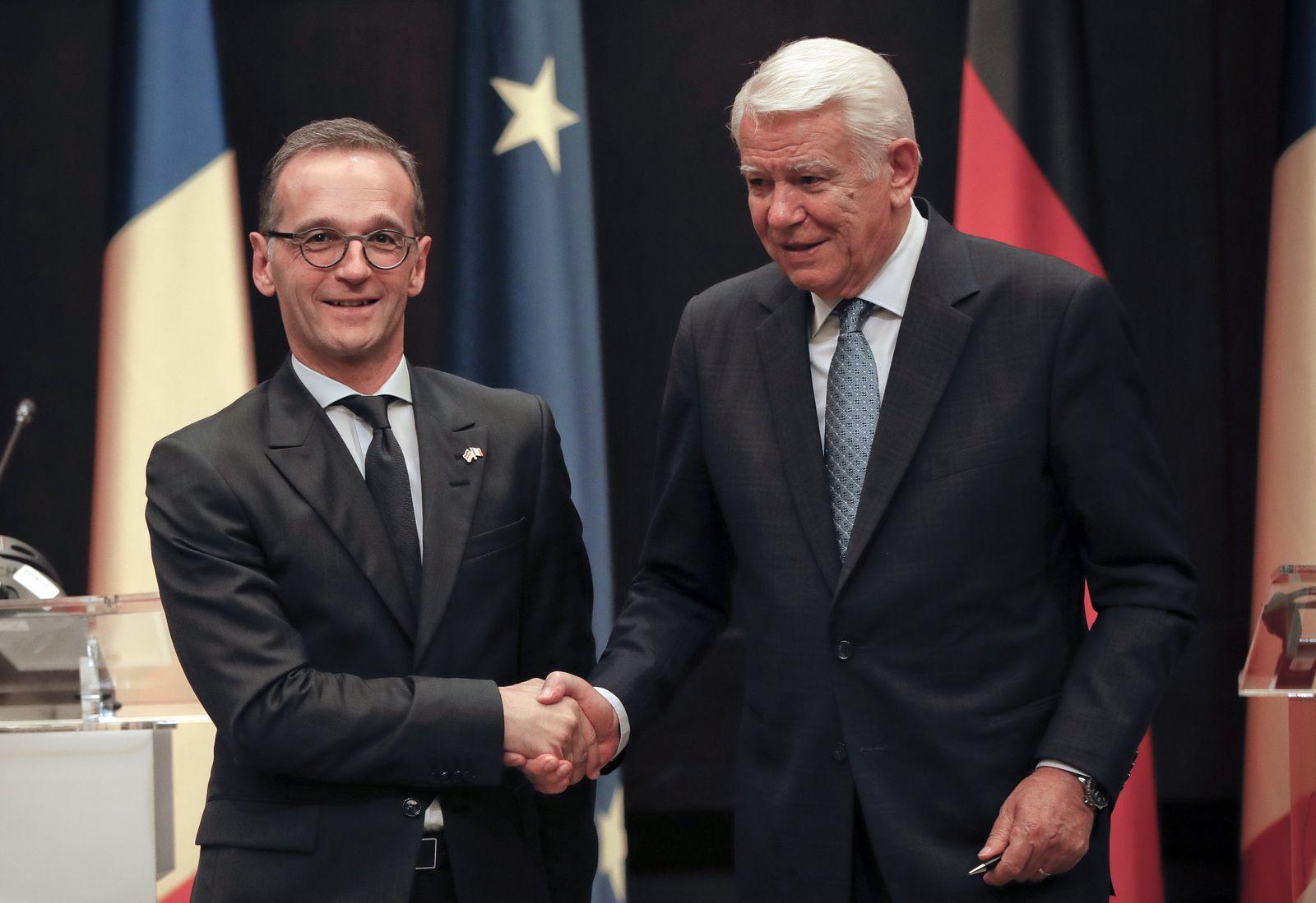 Heiko Maas und Teodor Melescanu