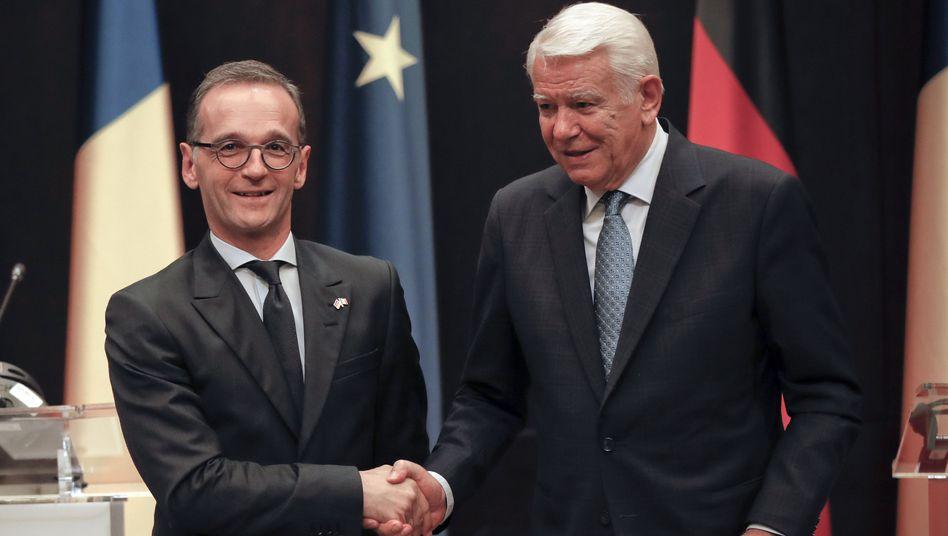 Außenminister Heiko Maas und Teodor Melescanu