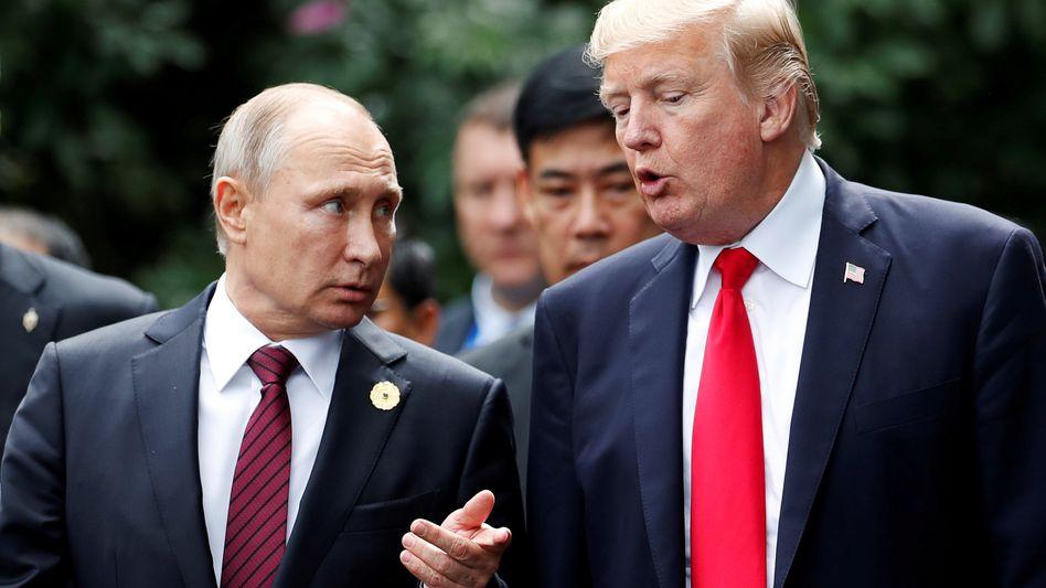 Wladimir Putin und Donald Trump (November 2017)