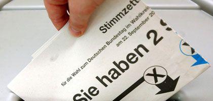 """Stimmzettel zur Bundestagswahl: """"Elektronische Auszählung vom Wähler schlichtweg nicht kontrollierbar"""""""