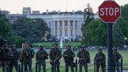 Trump im Bunker - US-Präsident sucht zeitweise Schutz vor Protesten
