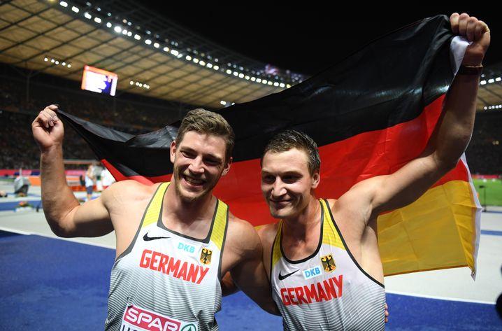 Röhler (links) und Hofmann