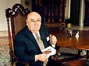 Genießer der eigenen Produkte: Hans Imhoff