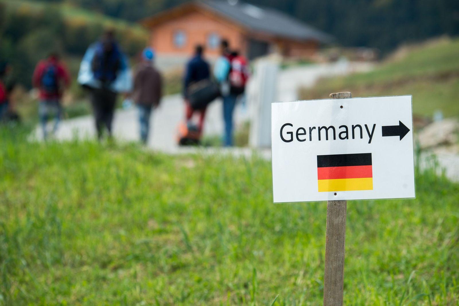 Grenze Österreich Deutschland