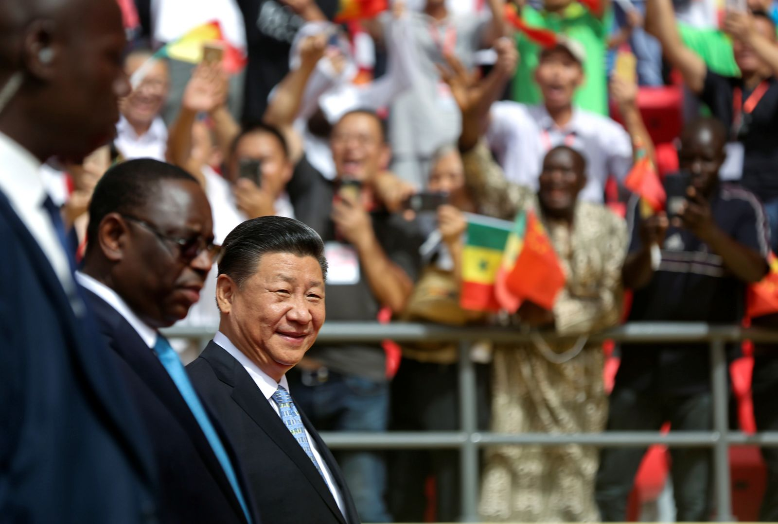 China investiert in Afrika / Xi Jinping in Senegal