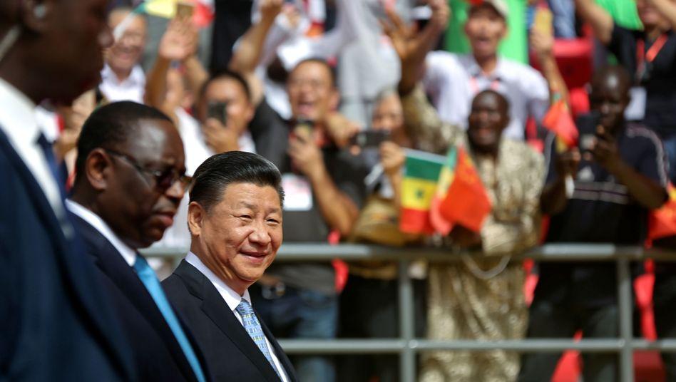 Chinas Präsident Xi Jinping bei Besuch im Senegal (Archivfoto Juni 2018)