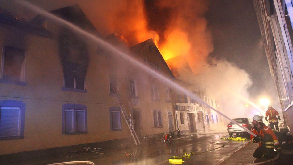 Brand in Backnang (10. März): Offenbar kein technischer Defekt als Ursache