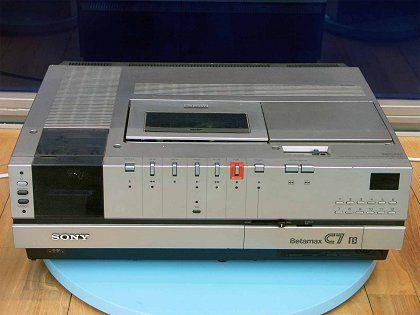 Sony-Betamax-Rekorder: Schlechtes Marketing und restriktive Lizenzpolitik verhinderten den Durchbruch