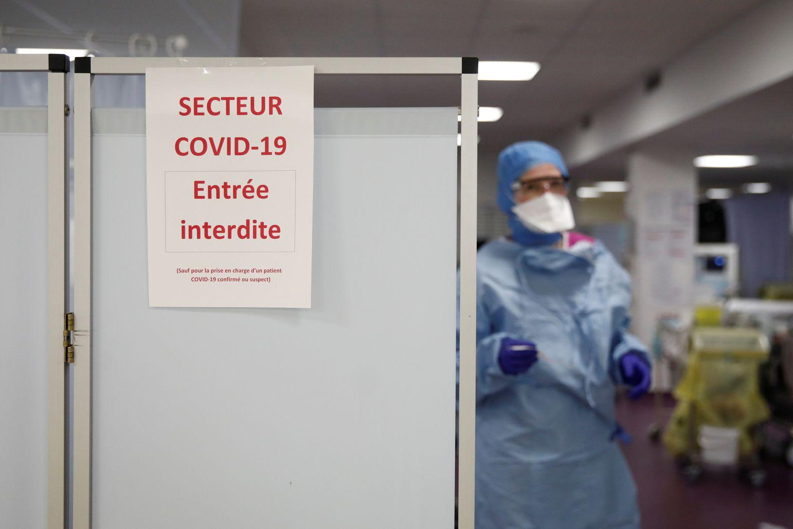 Spread of the coronavirus disease (COVID-19) in Paris