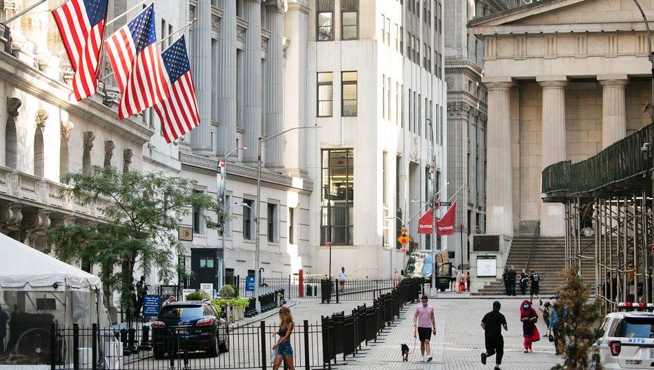 New Yorker Börse in Corona-Zeiten: Der Dow Jones ist zurück auf dem höchsten Stand seit Februar