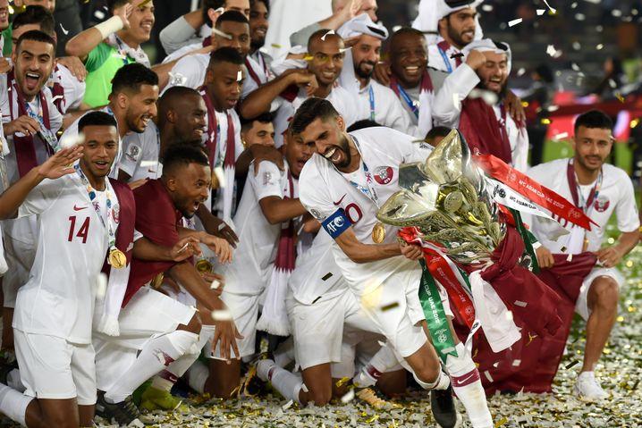 Im Januar gewann Katar bei der Asienmeisterschaft in den Vereinigten Arabischen Emiraten den Titel