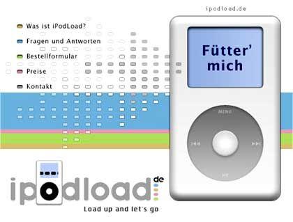 MP3-Dienst iPodload: Illegales Angebot?