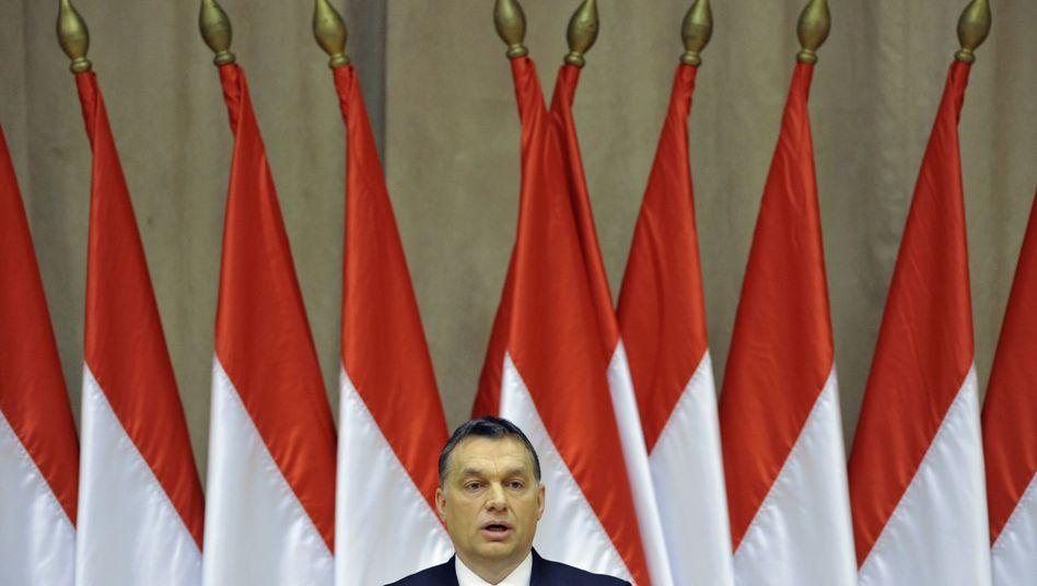Ungarns Premier Viktor Orbán: Mit Sparmaßnahmen Strafaktion abgewendet
