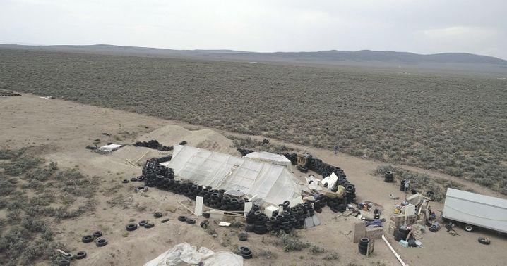 Siedlung im US-Bundesstaat New Mexico