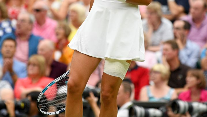 Wimbledon: Muguruzas Machtdemonstration
