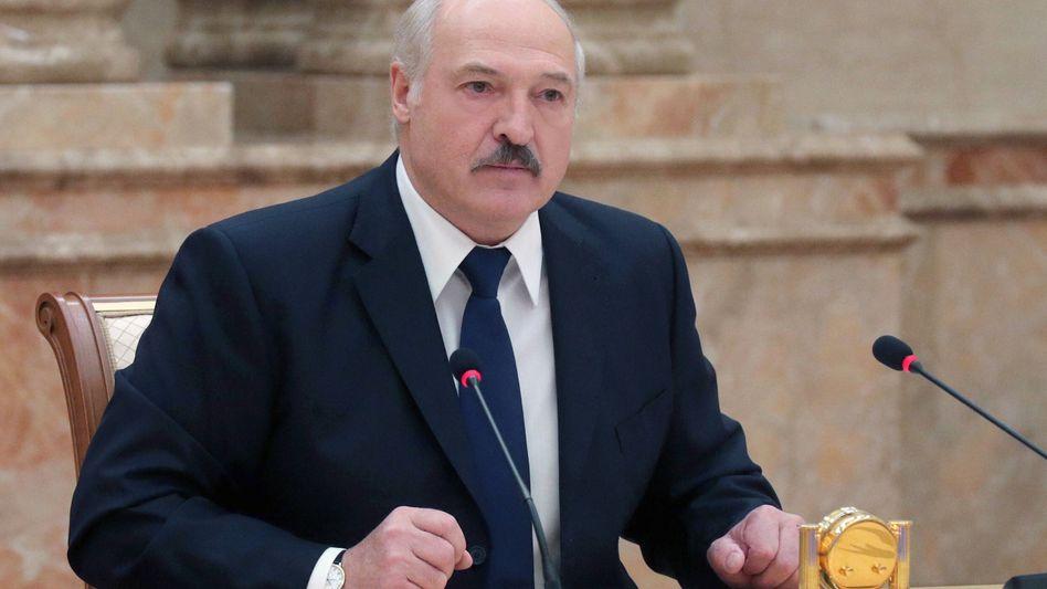 """Weißrusslands Staatschef seit 1994: Alexander Lukaschenko, der """"letzte Diktator Europas"""""""