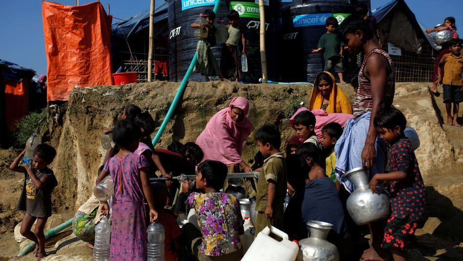 Rohingya in Camp in Bangladesch