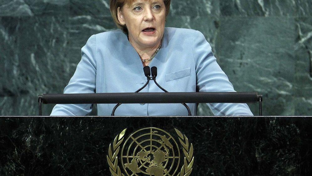 """Angela Merkel vor der Uno: """"Sie haben es in der Hand"""""""