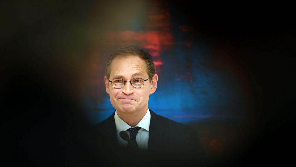 Michael Müller: Krise der Volksparteien als Alarmzeichen