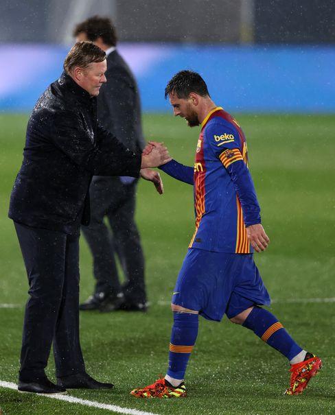 Barça-Coach Ronald Koeman, Lionel Messi