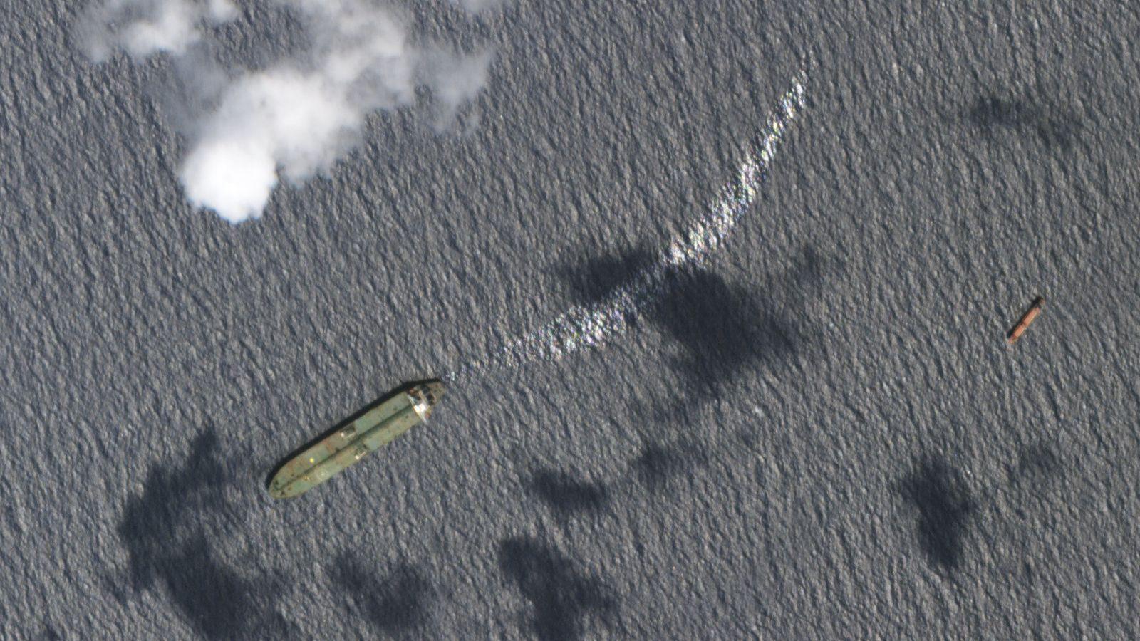 Iranischer Tanker «Adrian Darya-1»