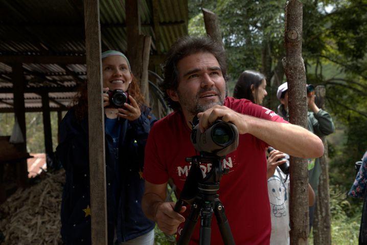 Diego Calderón wurde 2004 von der Farc entführt und drei Monate lang festgehalten, bis er für ein Lösegeld freikam