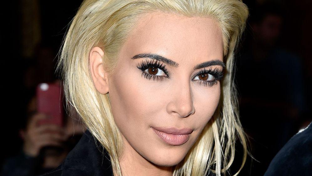 Neuer Look: Blond, blonder, Kim Kardashian