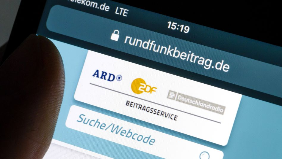 Website Rundfunkbeitrag.de