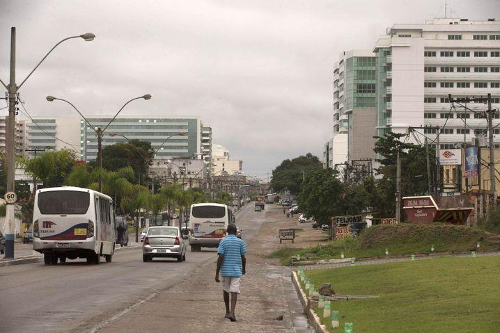 Hauptstraße in Itaboraí: Die Hoffnung auf Wachstum ist dahin