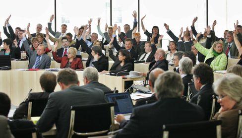 Abstimmung im Hessischen Landtag: Nein zu Studiengebühren - im zweiten Anlauf