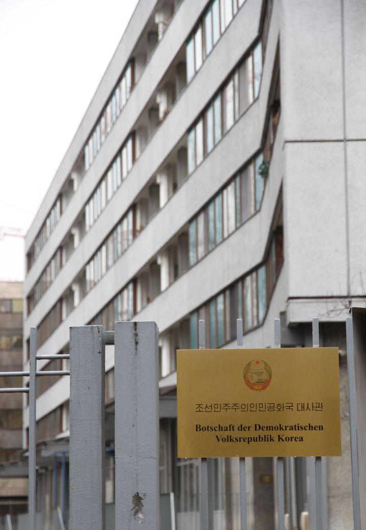 Botschaft Nordkoreas in Berlin