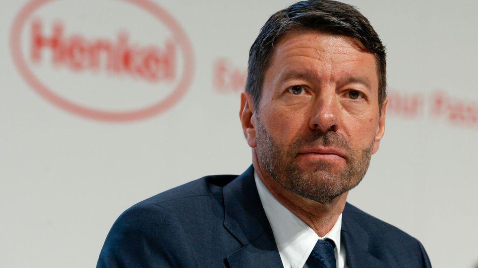 Konzernchef Kaspar Rorsted: Noch Henkel, bald Adidas