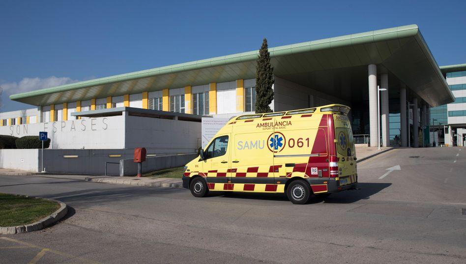 Der Infizierte liegt im Krankenhaus Son Espases in Palma de Mallorca
