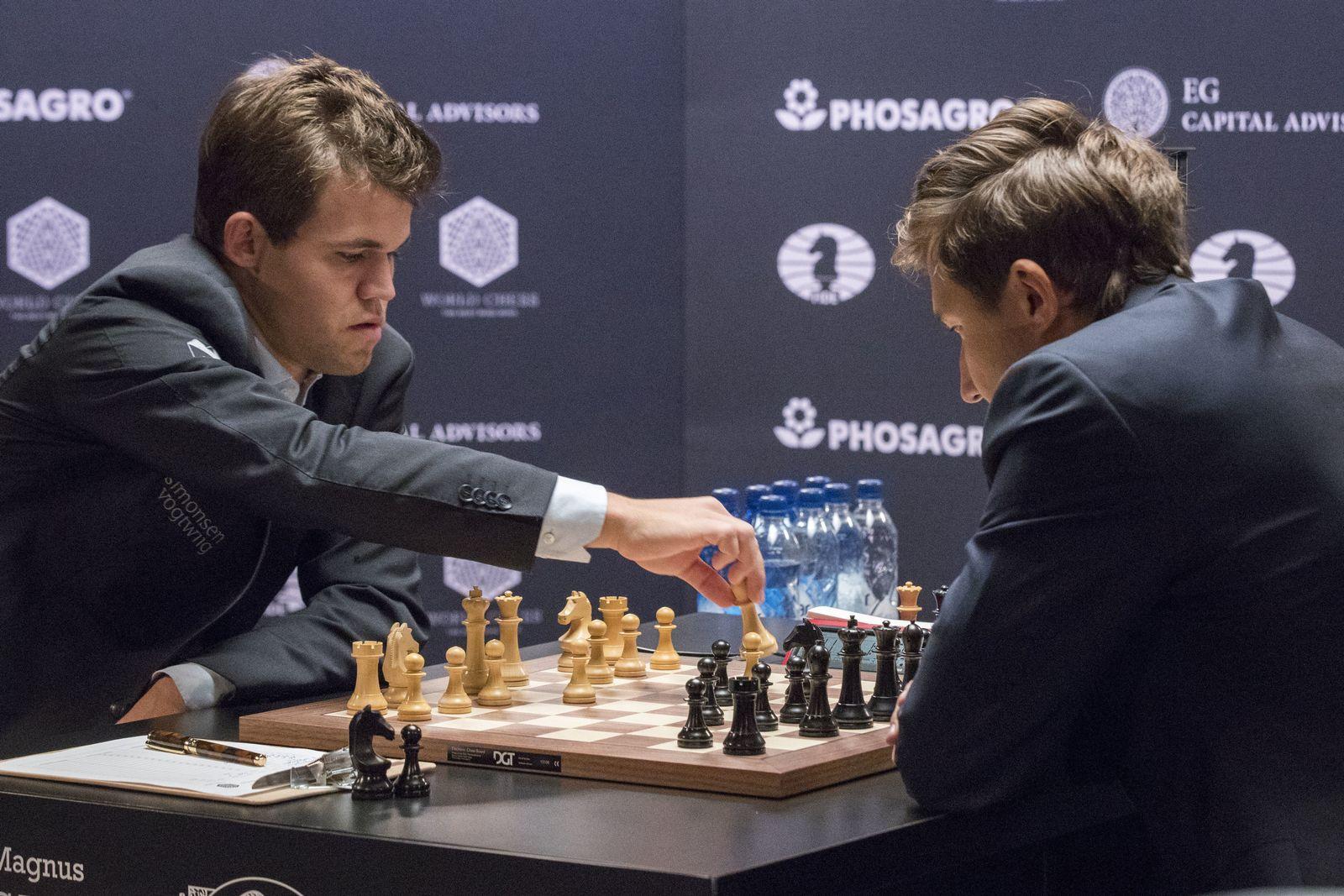 World Chess Championship Carlsen Karjakin