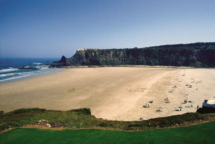 Praia Odeceixe: Sand ohne Ende