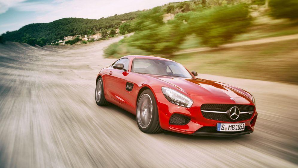 Weltpremiere Mercedes-AMG GT: Showdown in Schwaben