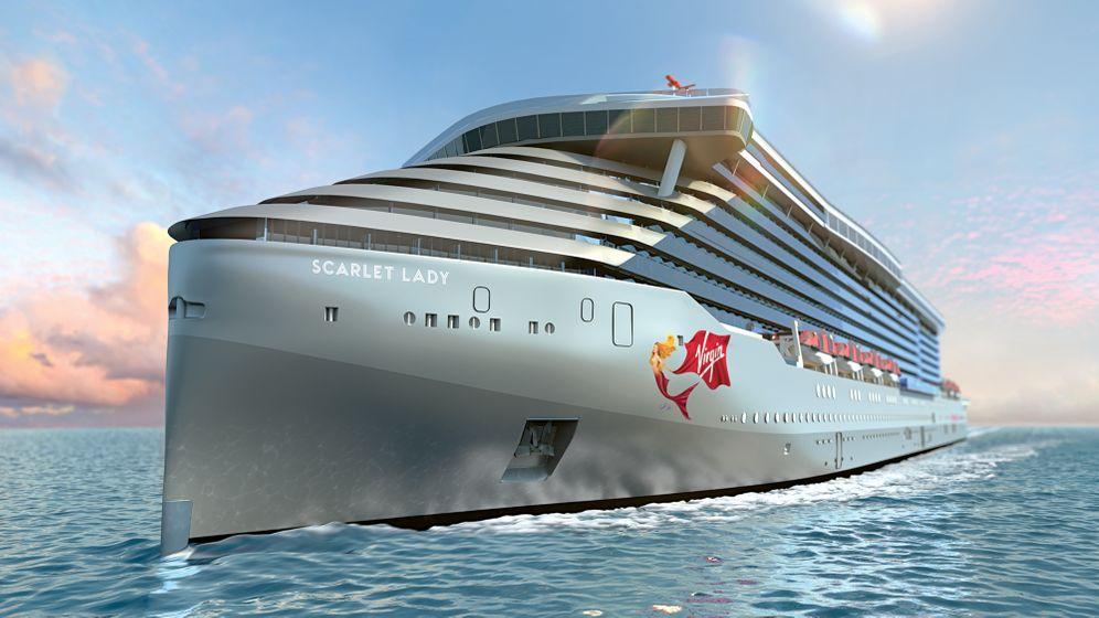 """Virgin-Voyages-Kreuzfahrtschiff """"Scarlet Lady"""": Passagiere heißen im Reederei-Sprech """"Sailors"""""""