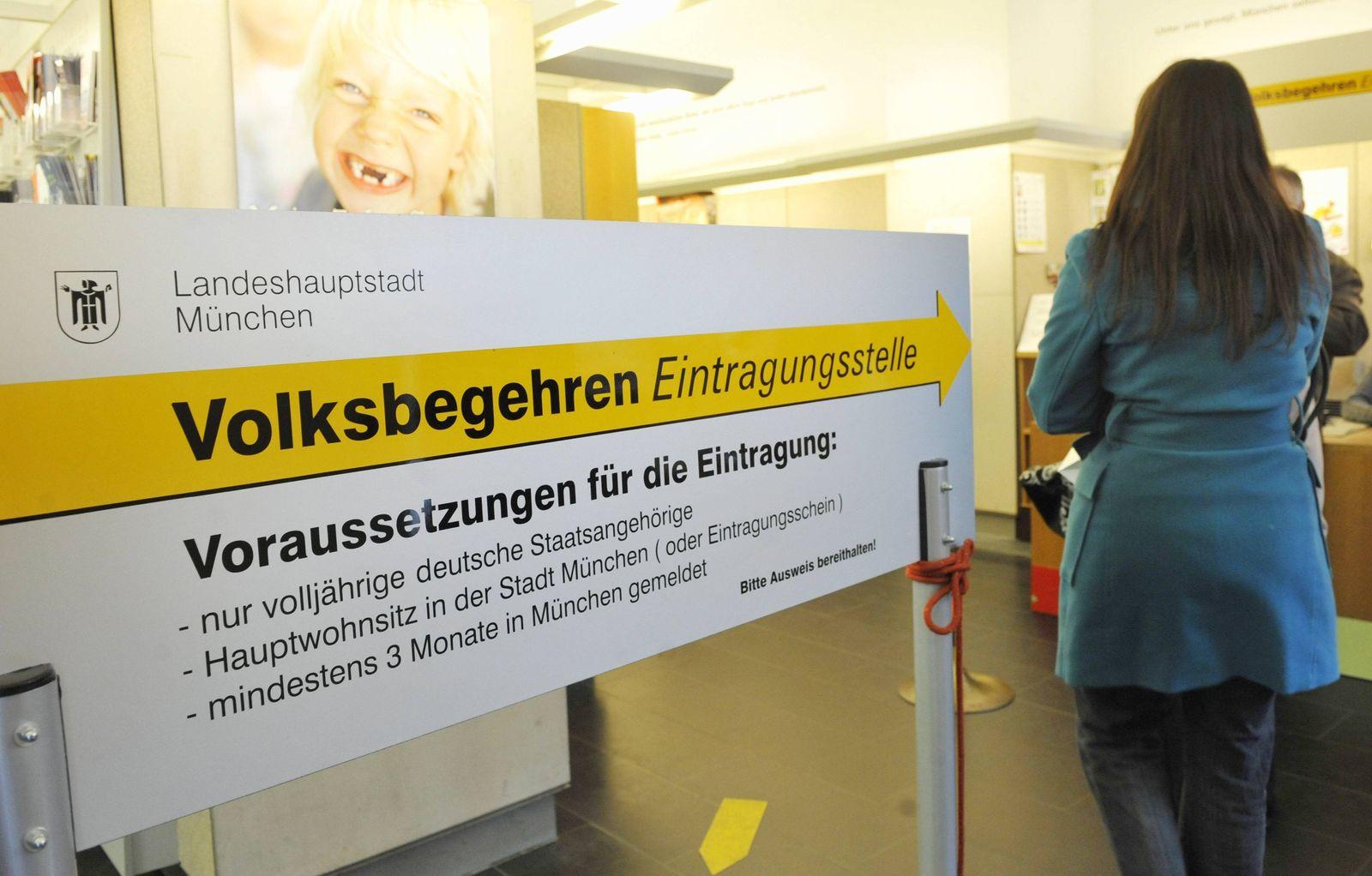 """NICHT VERWENDEN Volksbegehren """"Fuer echten Nichtraucherschutz"""""""