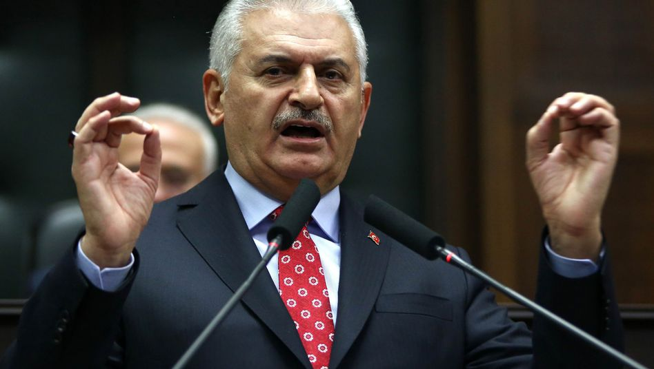 Ministerpräsident Yildirim