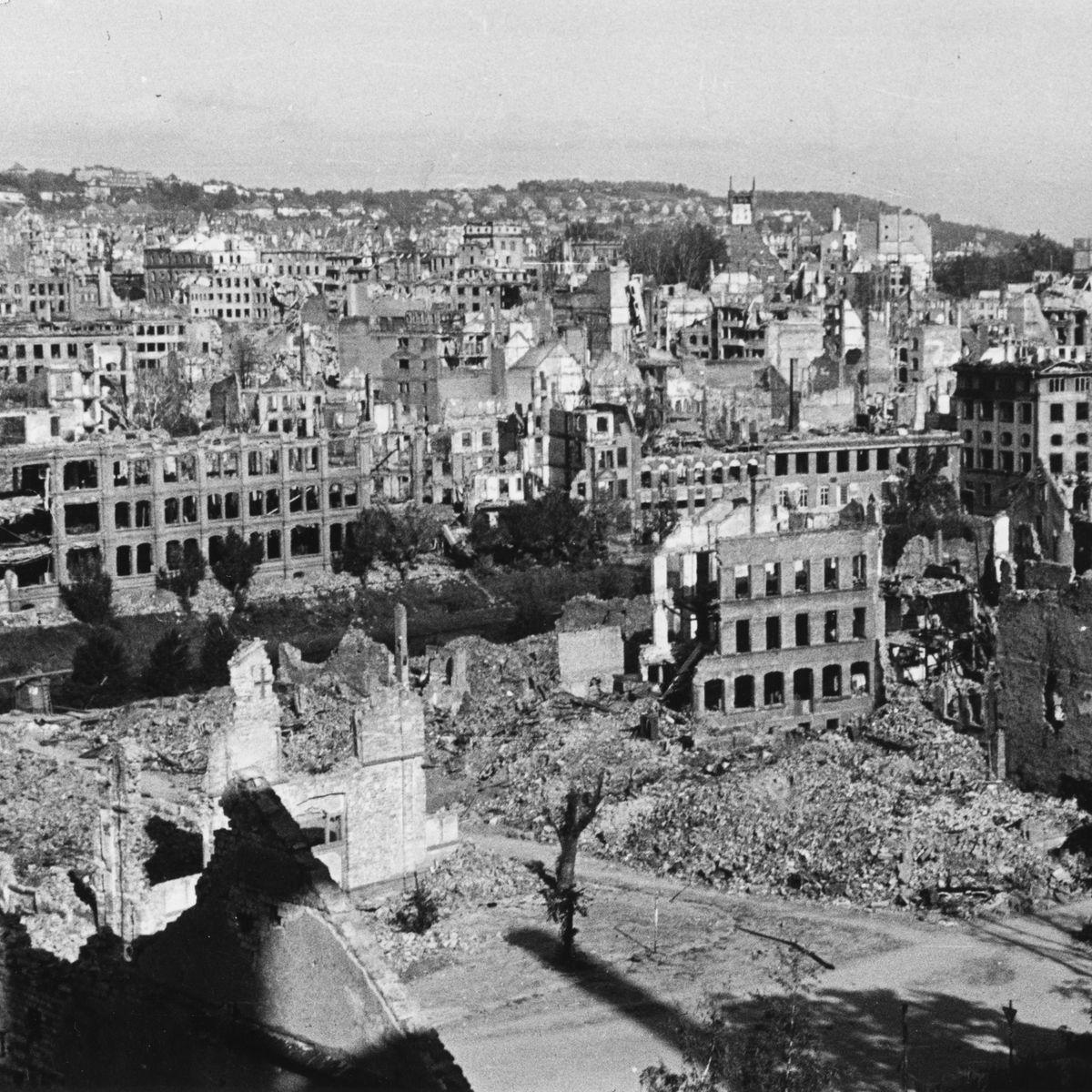 """Luftangriffe auf Pforzheim: """"Man kann die ganze Stadt abschreiben"""""""