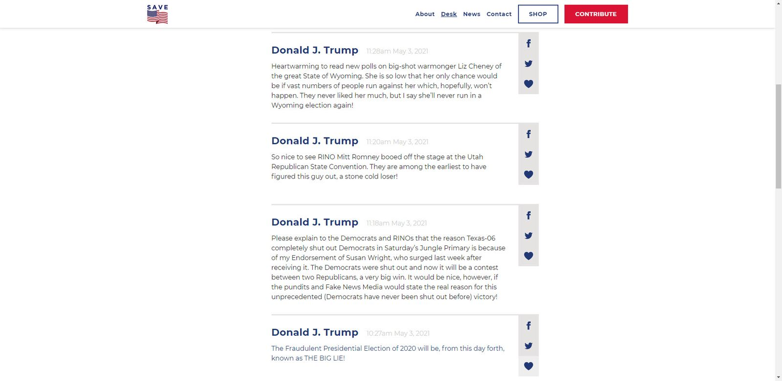 blog trump