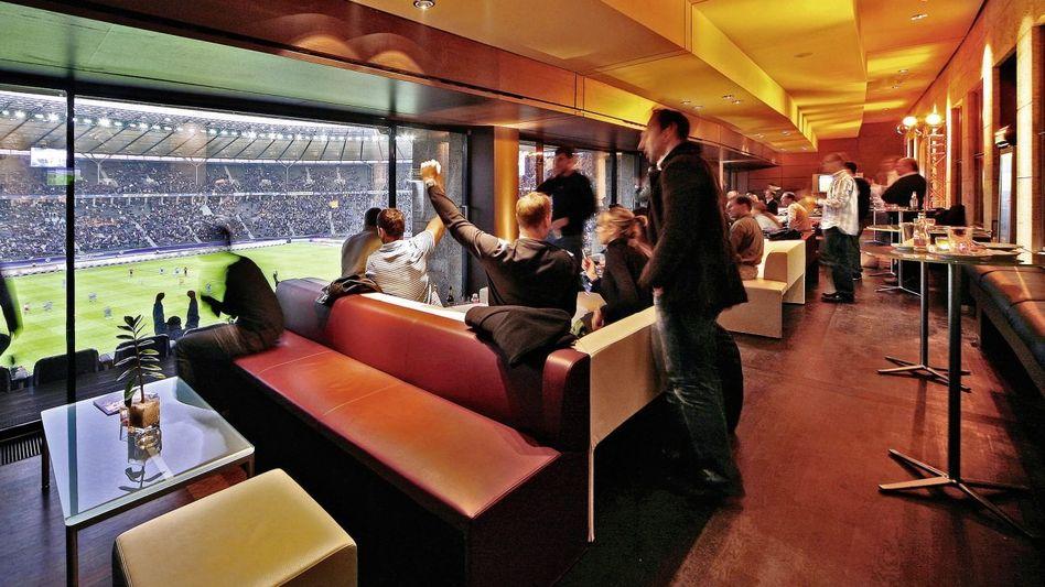 Lounge im Berliner Olympiastadion