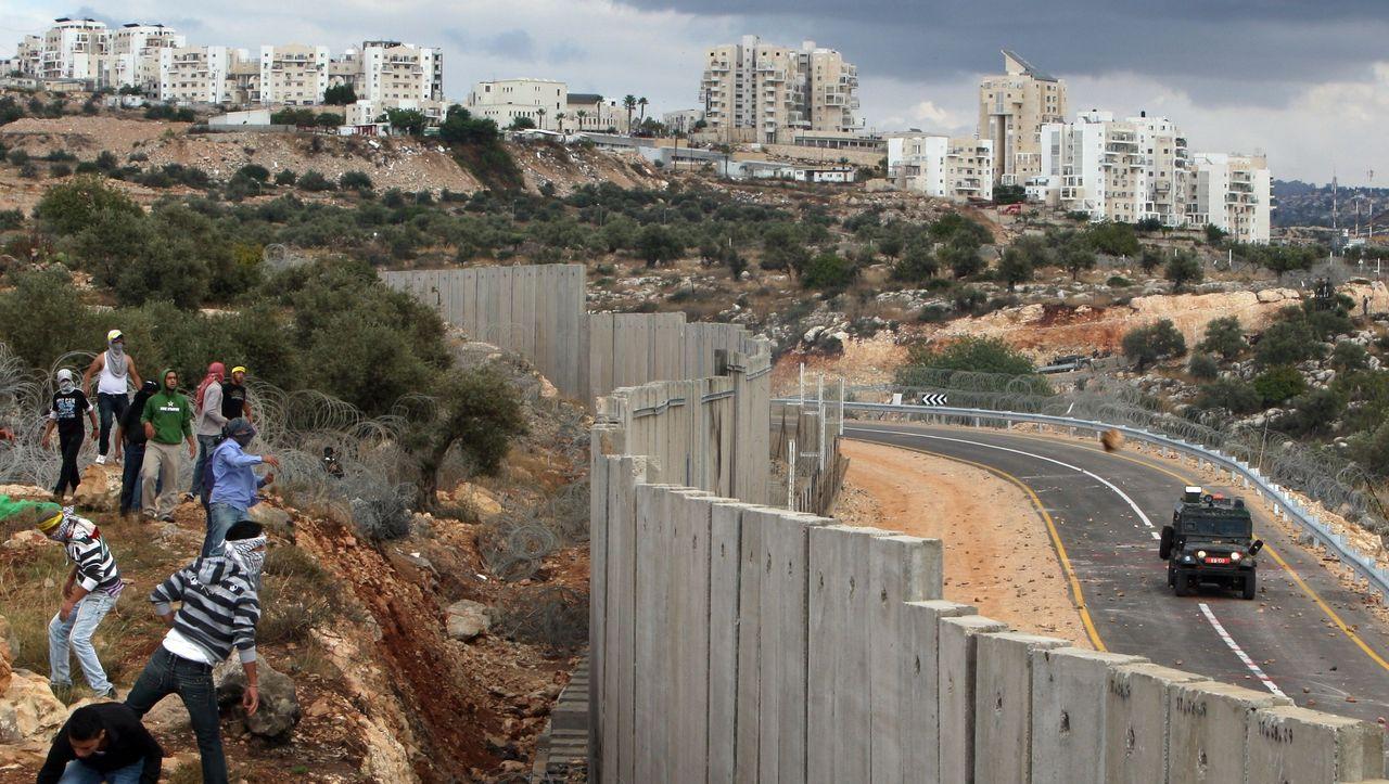 Gazastreifen Mauer
