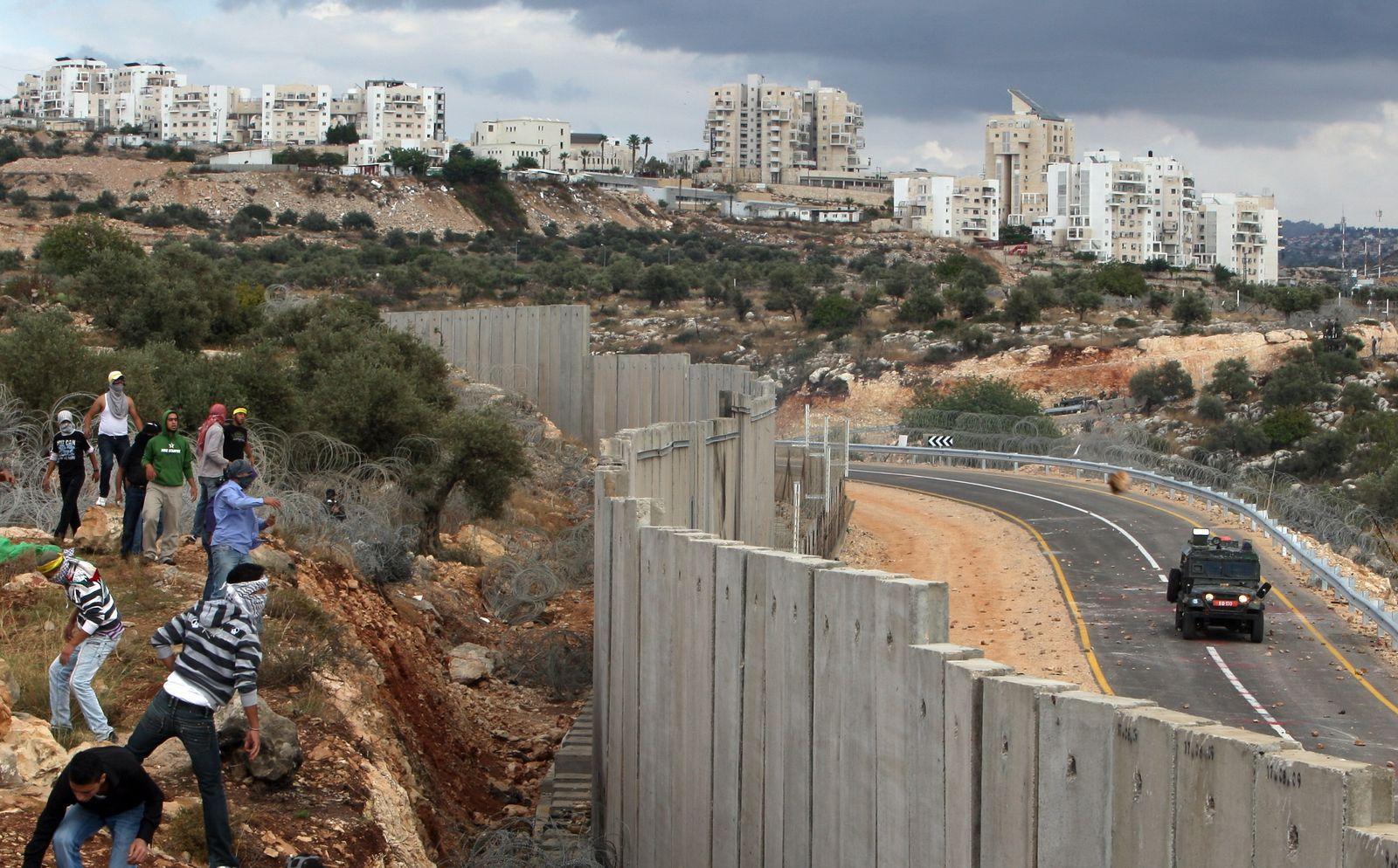 Israel/ Westjordanland/ Grenze