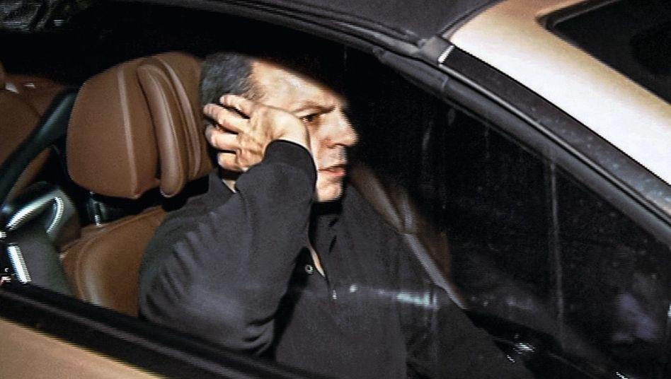 Verurteilter Drach bei seiner Haftentlassung 2013: Arroganter Angeklagter ohne Empathie