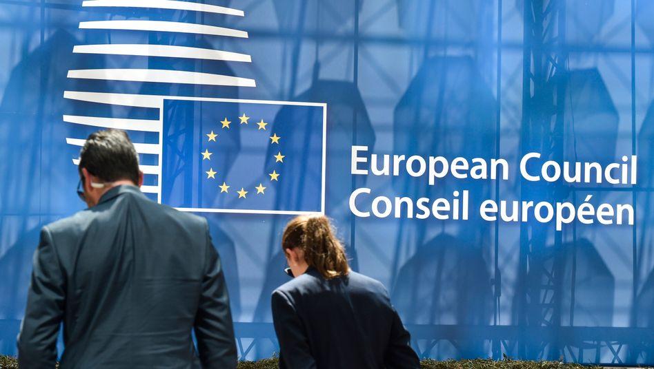 Das Gebäude des Europäischen Rates in Brüssel (Archivbild)