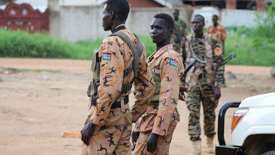 Soldaten im Südsudan
