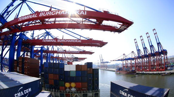 Brückenfahrer Soenke Greve: Höhenflug im Hamburger Hafen